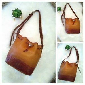 Brighton Collection Handbag Leather